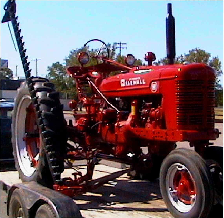 "1949 Farmall ""H"""