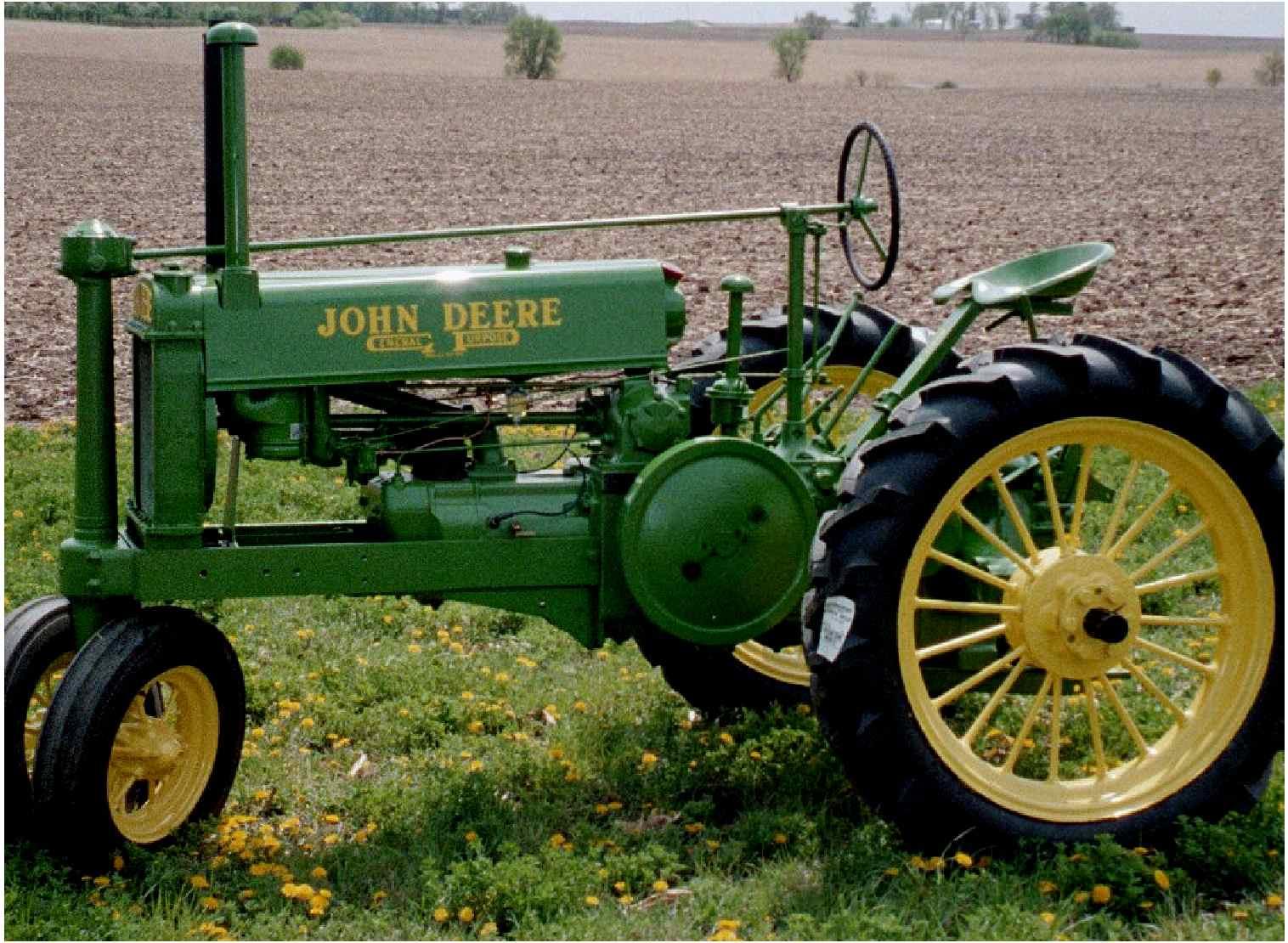 """1935 John Deere """"B"""""""