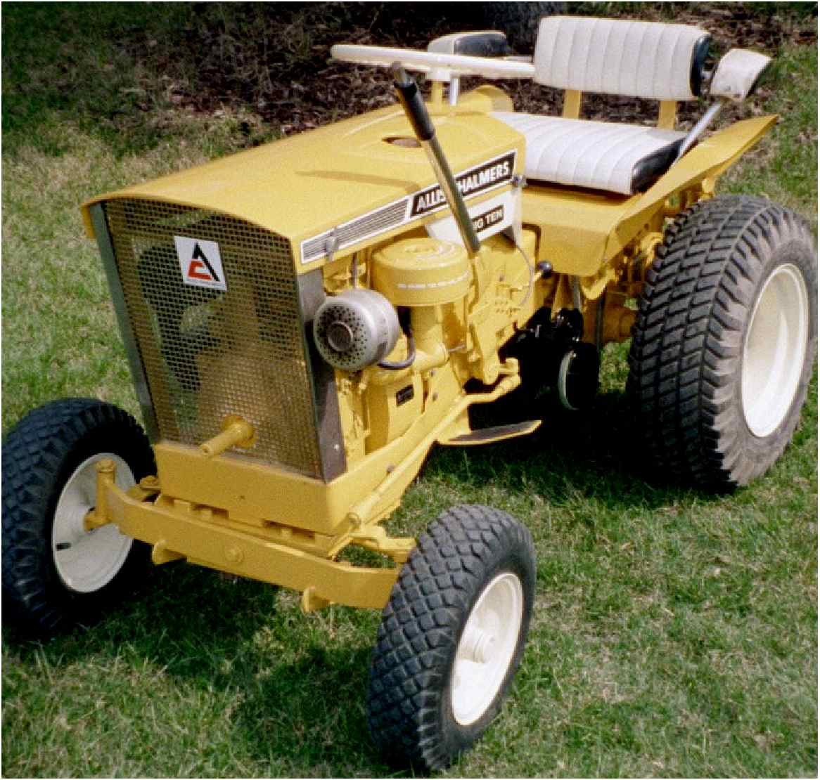 Allis Chalmers Garden Tractors : Lee j sackett completed projects